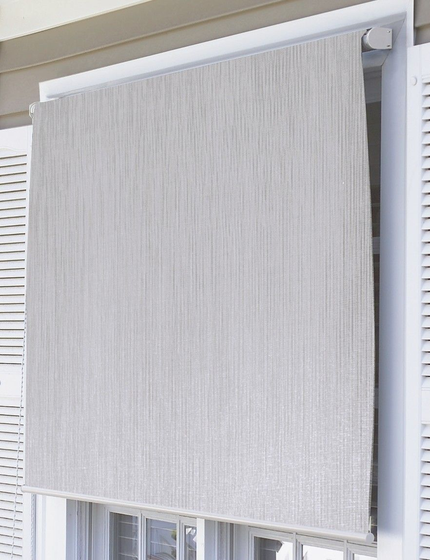 Coolaroo Premier Series Outdoor Roller Solar Shade Solar Shades Diy Window Blinds Shade House