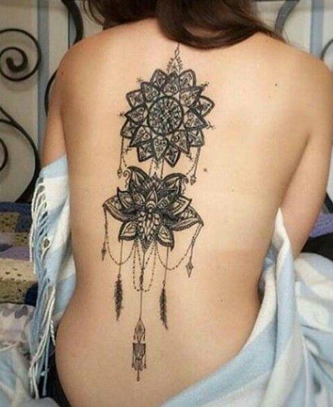 Tattoo For Women Back Beauty Tattoos Tattoos Body Art Tattoos