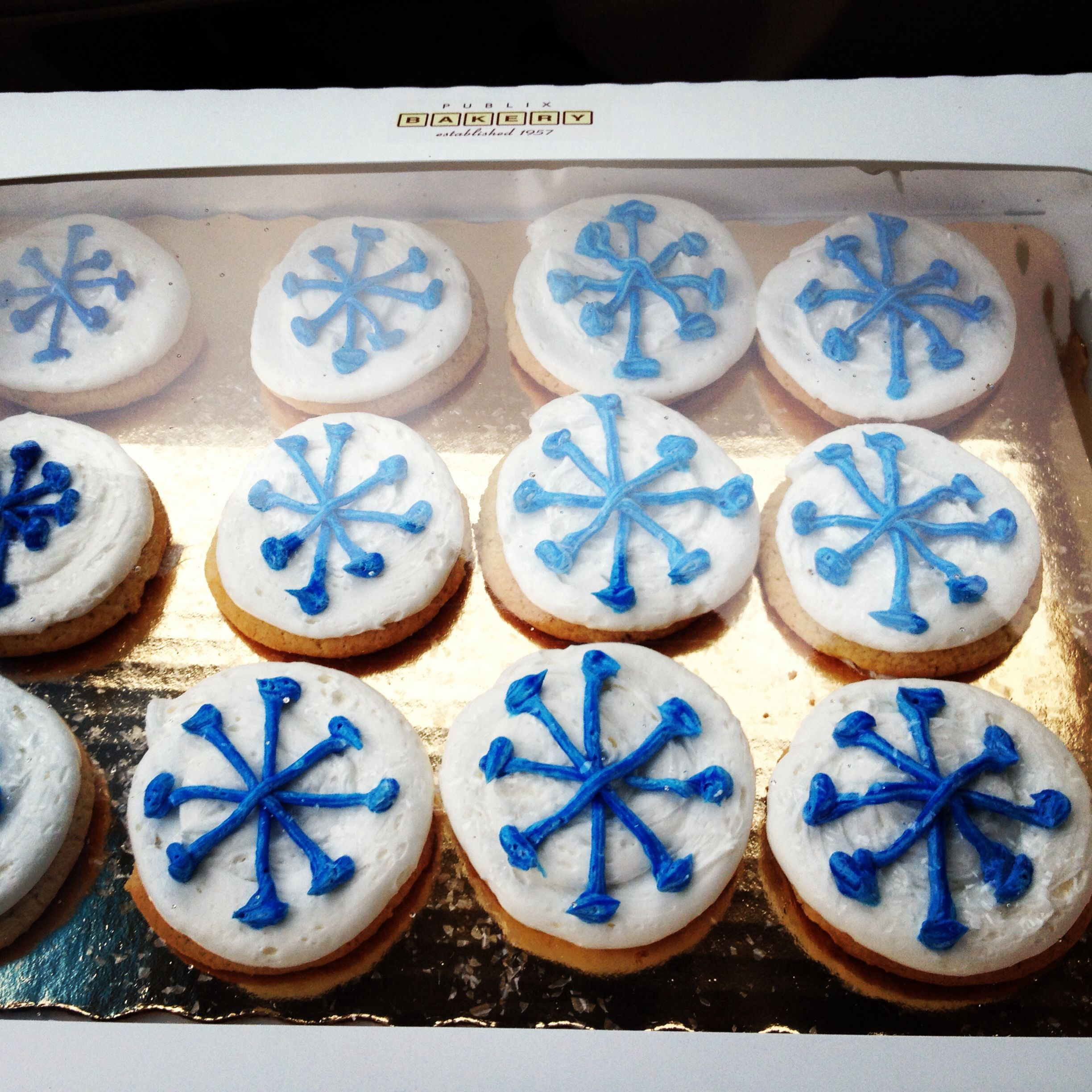 Disney Frozen cookies from Publix Bakery Cookies Pinterest