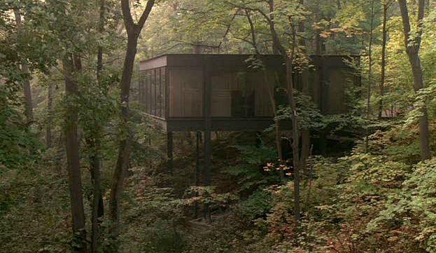 Cameron Frye's mid-century modern house Ferris