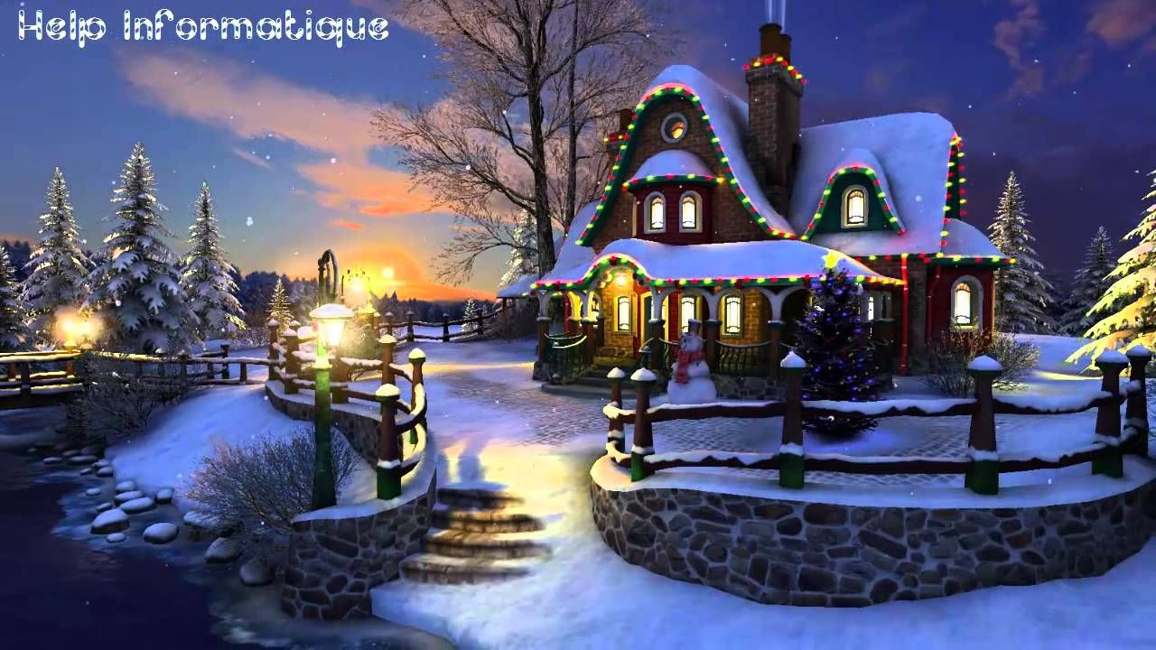 Image result for christmas night wallpaper hd Christmas