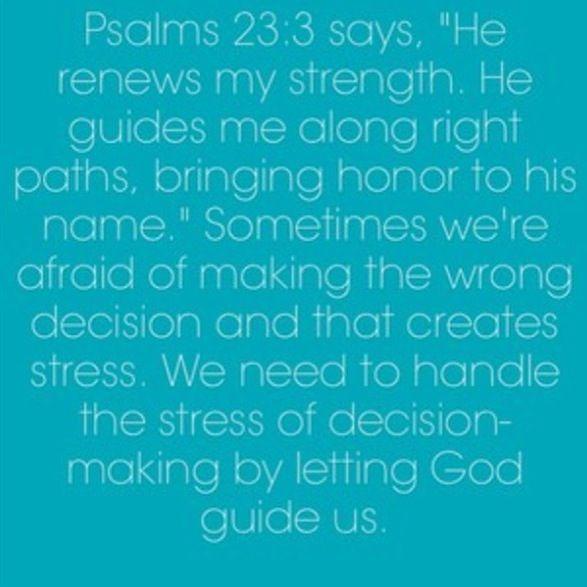 Psalms 23:3