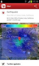 Earthquake American Red Cross App for Android App