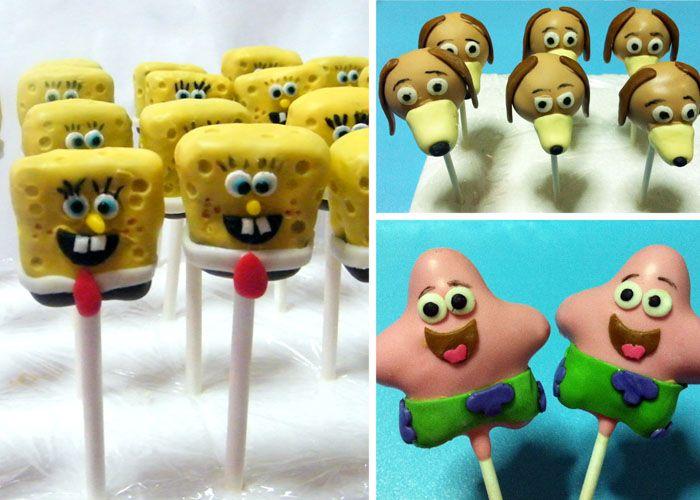 Slinky The Dog From Toy Story Cake Pops Spongebob