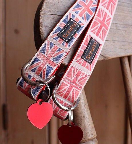 By Jingo Union Jack Designer Dog Collars 20 00www Chelseadogs