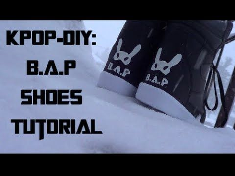 B.A.P {비에이피} Shoes Tutorial | MinjiVanPark