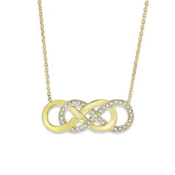 Kc designs double infinity necklace my style pinterest double kc designs double infinity necklace aloadofball Image collections