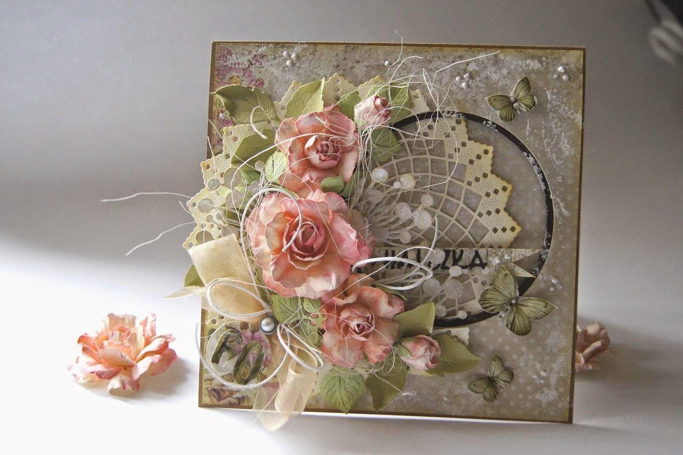 Kartkowy Wiat Gosi W Okienku Re Pinterest Handmade