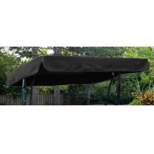 Medium image of water resistant 2 seater replacement canopy only for swing seat garden hammock in royal blue