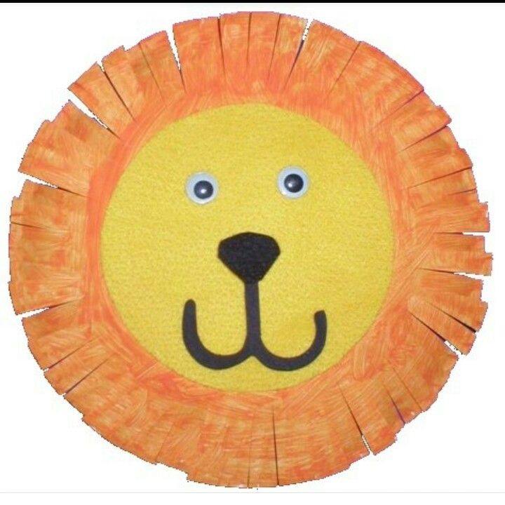 Paper plate Lion! Add writing prompt for The Lion and the Mouse  sc 1 st  Pinterest : paper plate lions - Pezcame.Com