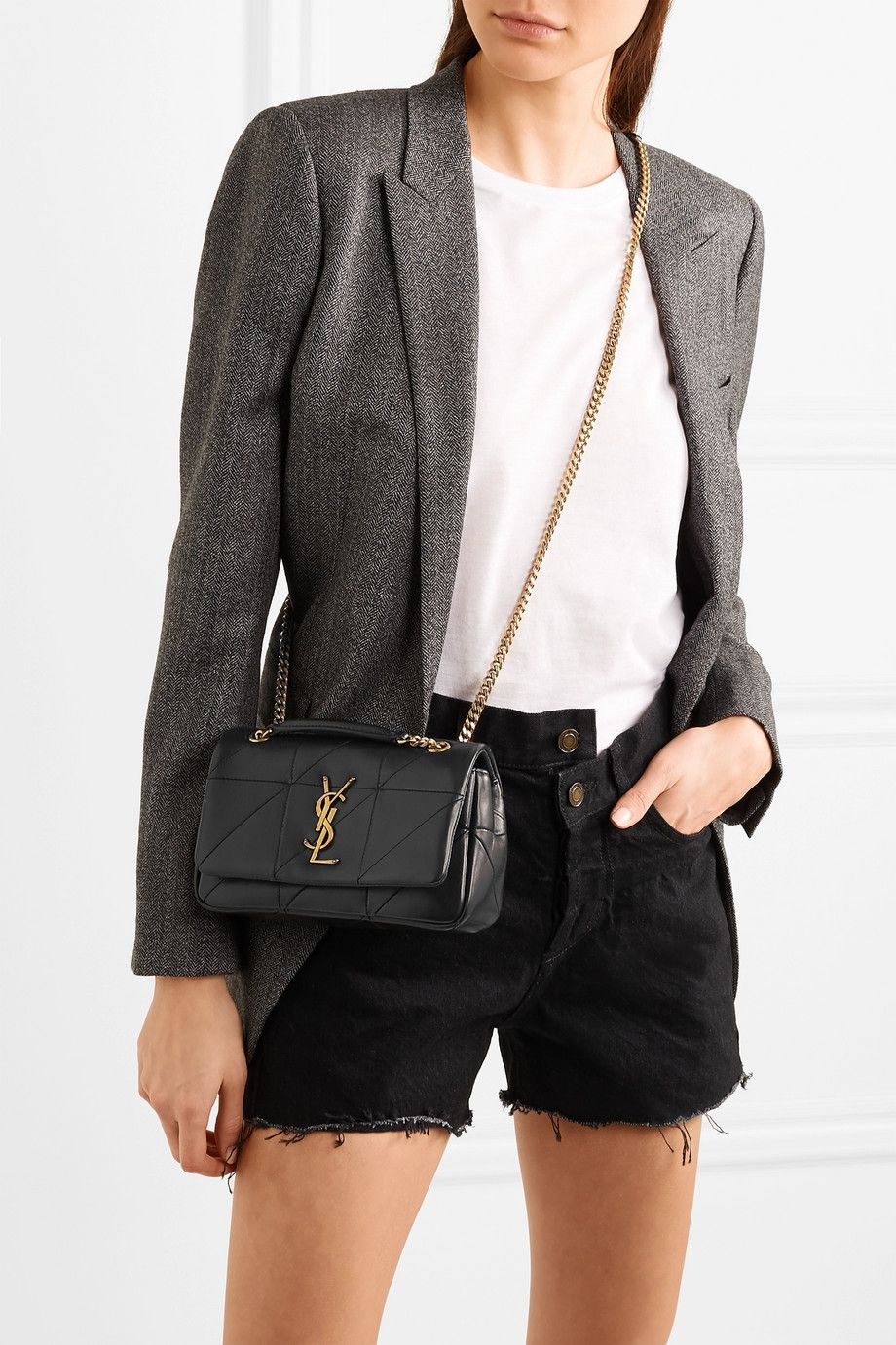 3f725897068 Saint Laurent Jamie small quilted leather shoulder bag $1,950 | Bags ...