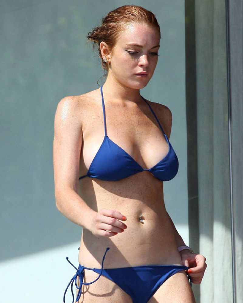 Bikini Lindsay Lohan naked (29 foto and video), Sexy, Cleavage, Boobs, underwear 2015
