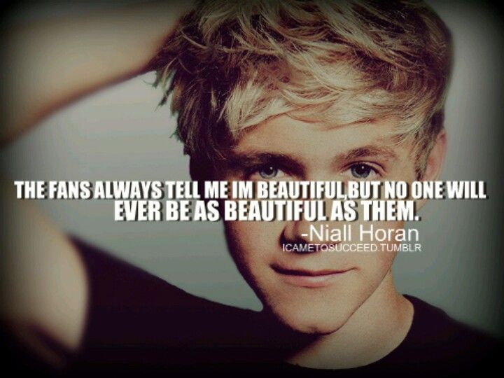 Inspirational One Direction Quotes: Niall Horan Inspirational Quotes. QuotesGram