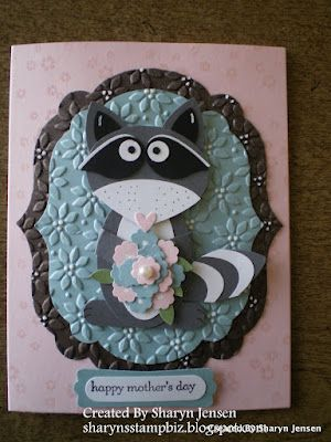 Mothers Day Raccoon