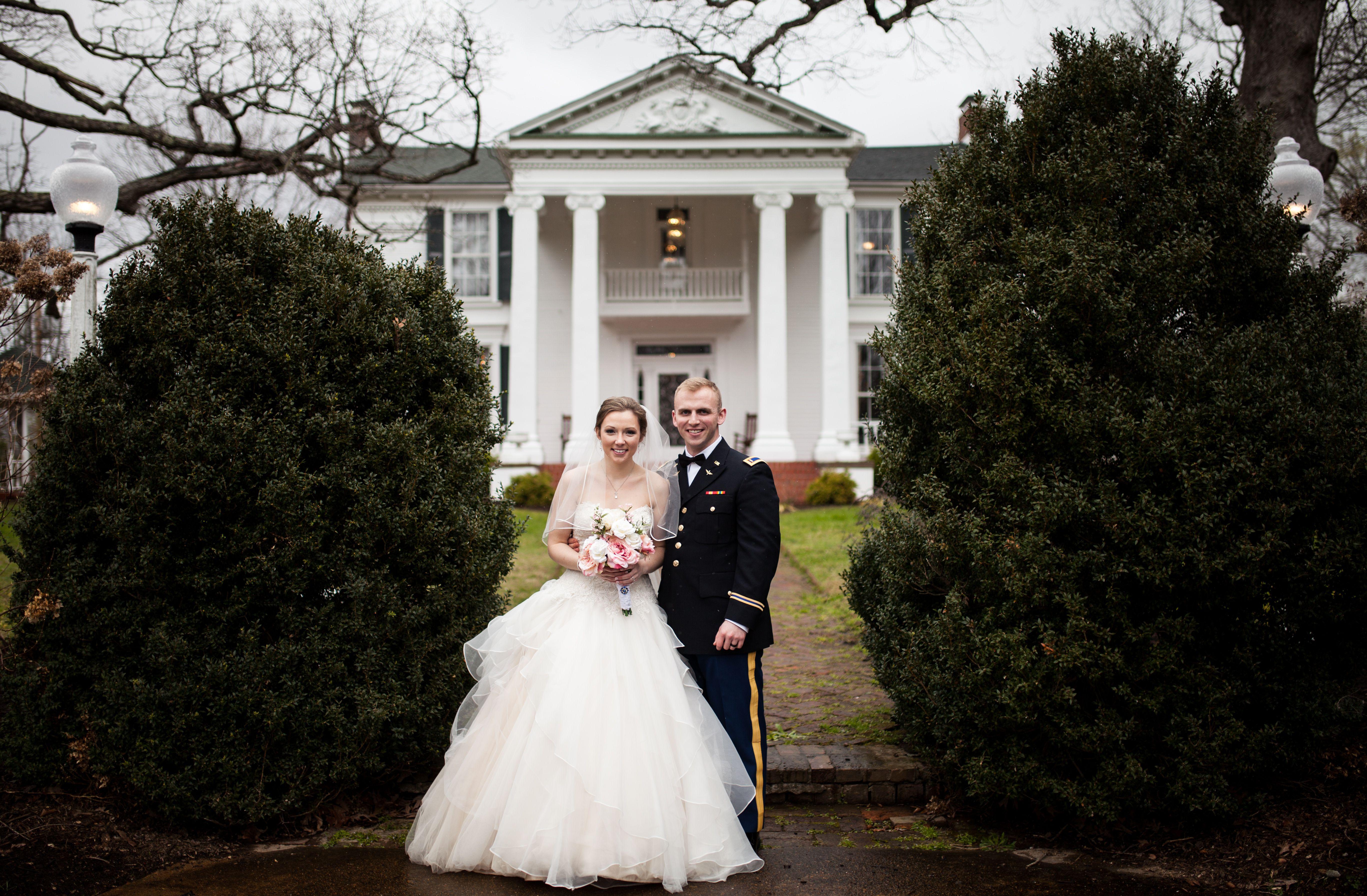 James and Amanda's #memphis wedding. Photo // Evan David Photography