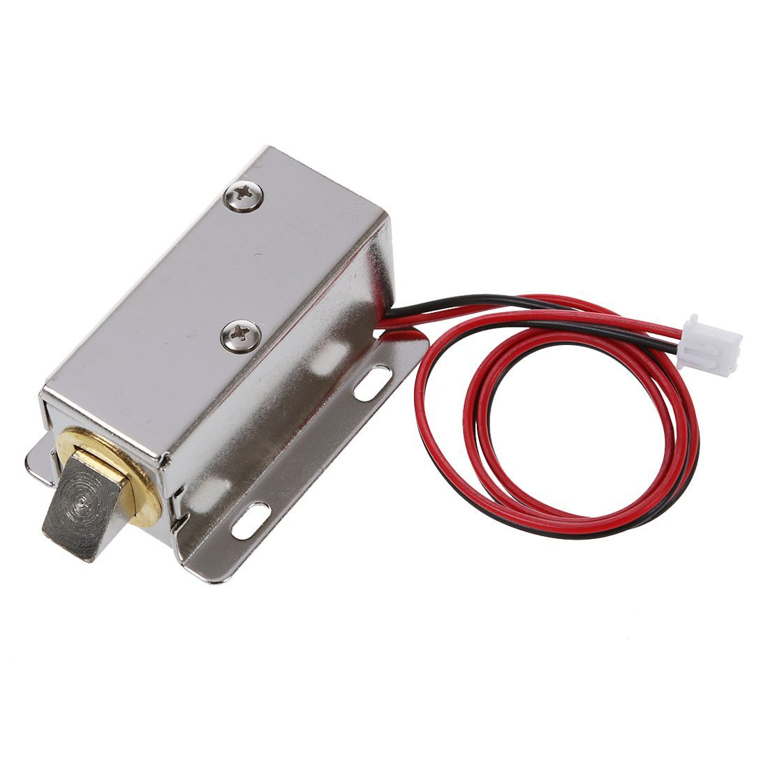 0837l Dc 12v 8w Open Frame Type Solenoid For Electric Door Lock Door Locks Open Frame Hardware