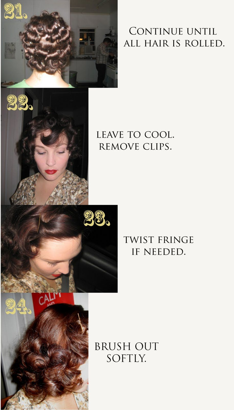 Gatsby And Me 30s 40s Hair Tutorial Its A Wonderful Life