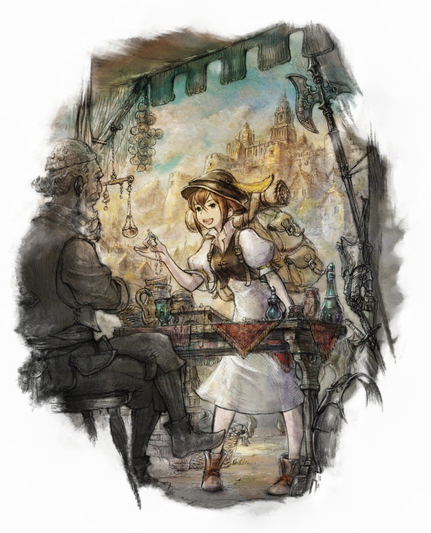 Square Enix Releases New Screenshots and Art for Octopath ...