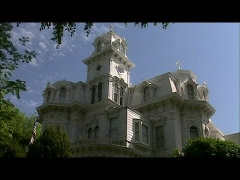 Visiting With Huell Howser Governor S Mansion Native American Artists Mansions American Artists