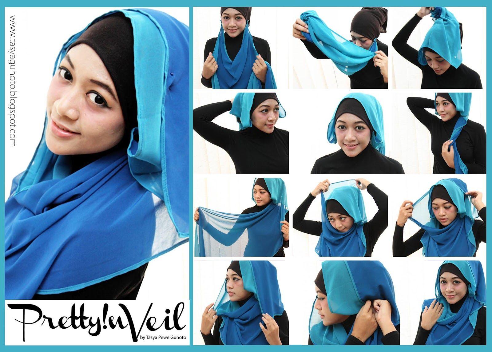 How To Wear Hijab Hijab Tutorial Pinterest Tutorials Turban