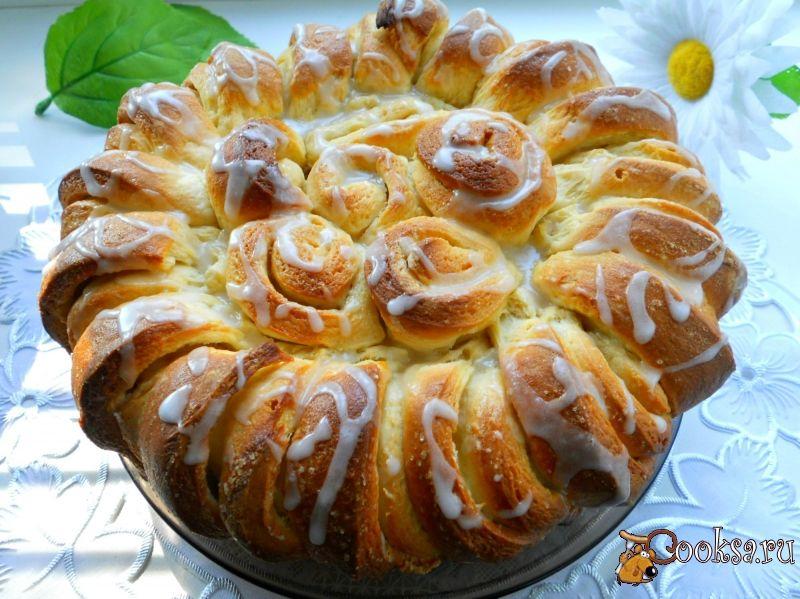 Праздничный сладкий пирог с фото | Идеи для блюд, Рецепты ...