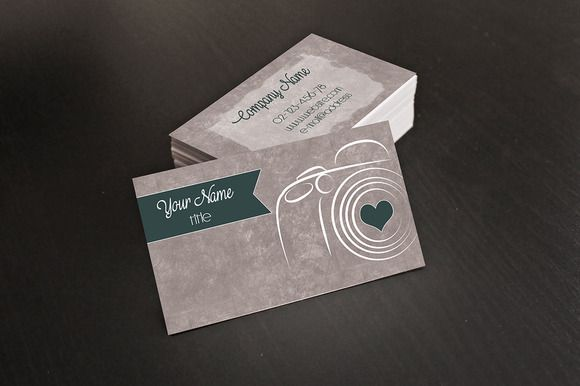 Photographer Business Card by @Graphicsauthor