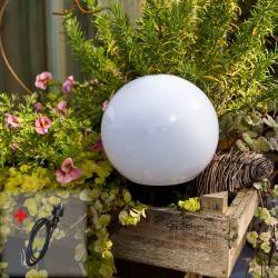 Lhg Kugelleuchte Light 20 cm – mit Gummizuleitung und Stecker 23330Wohnlicht.com