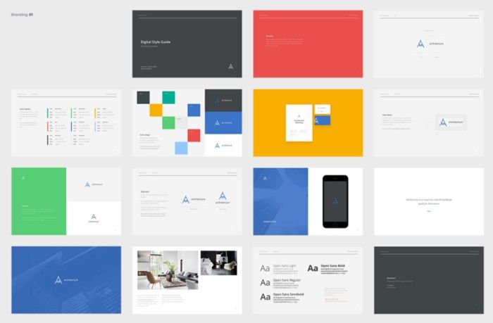 Branding Book & Style Guide Templates | branding/ identity ...