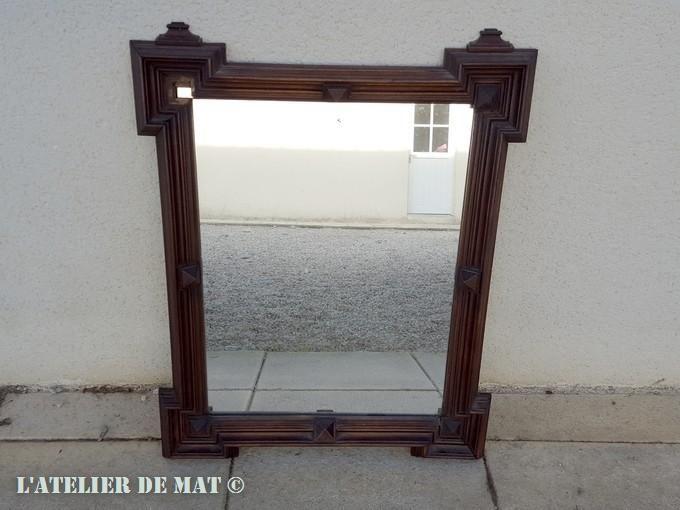 Comment rajeunir en quelques étapes un vieux miroir Unique - rajeunir un meuble ancien