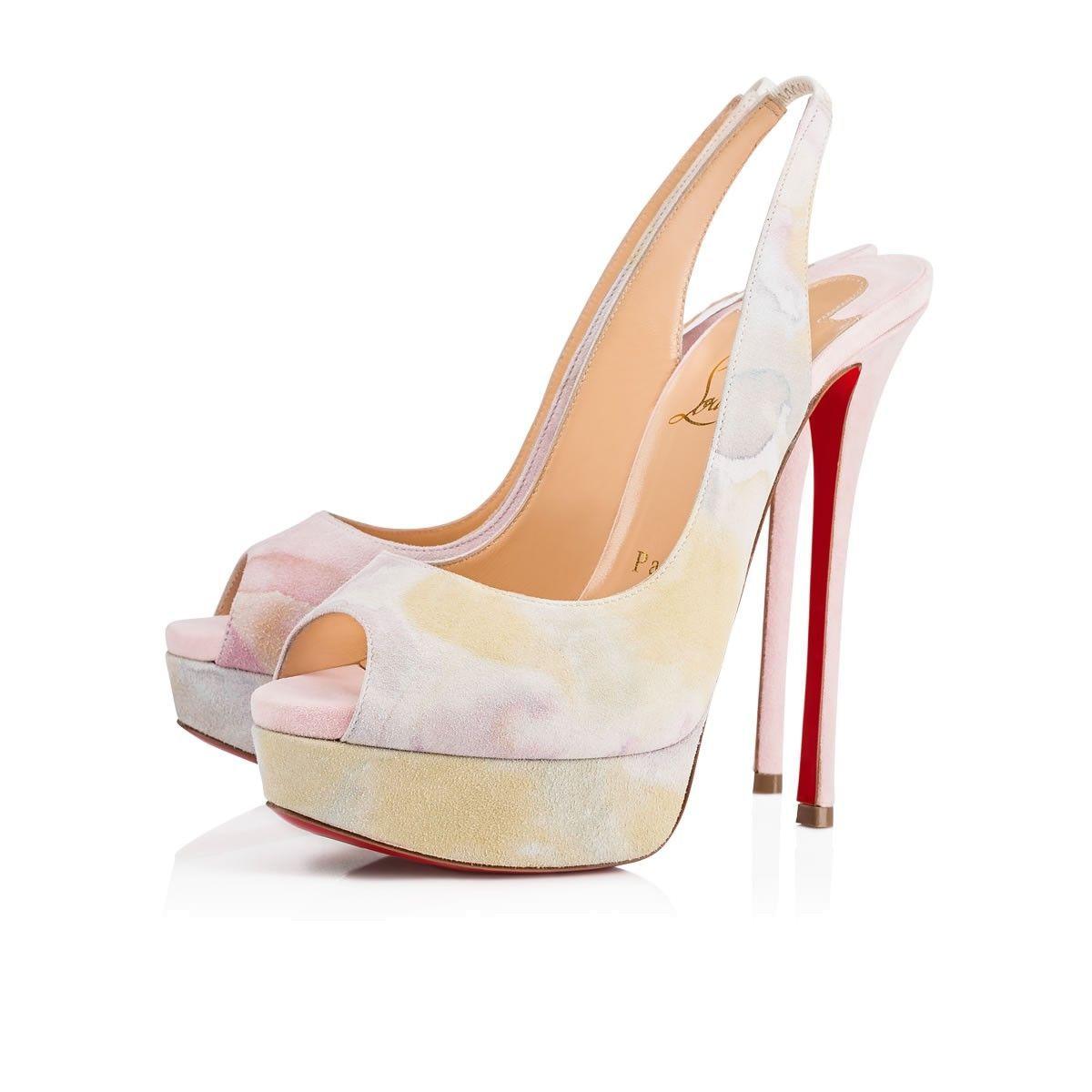 59a26be66746 Shoes - Fetish Peep Sling - Christian Louboutin