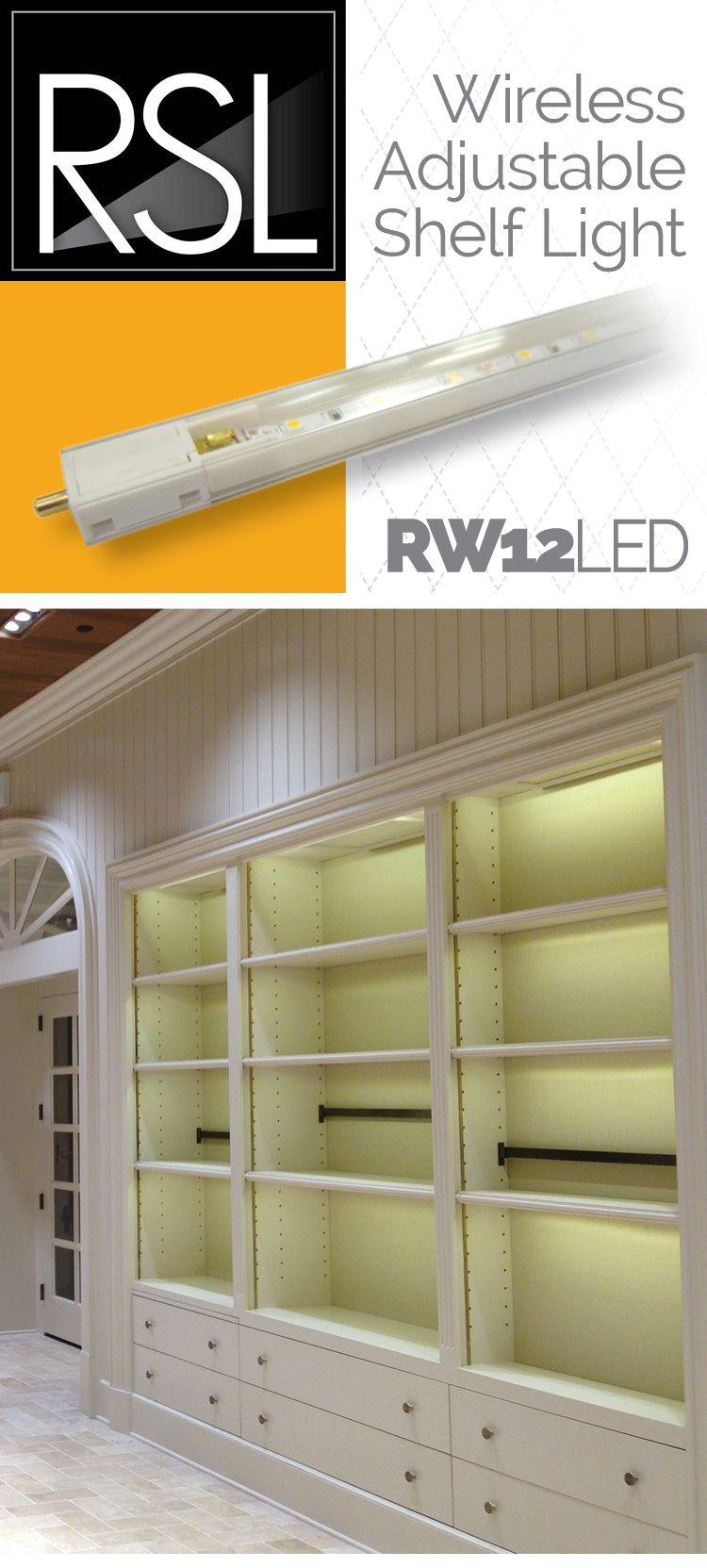 wireless lighting solutions. Wireless Adjustable Shelf Light By RSL. Robertssteplite.com Great LED Lighting Solution For Retail Solutions G