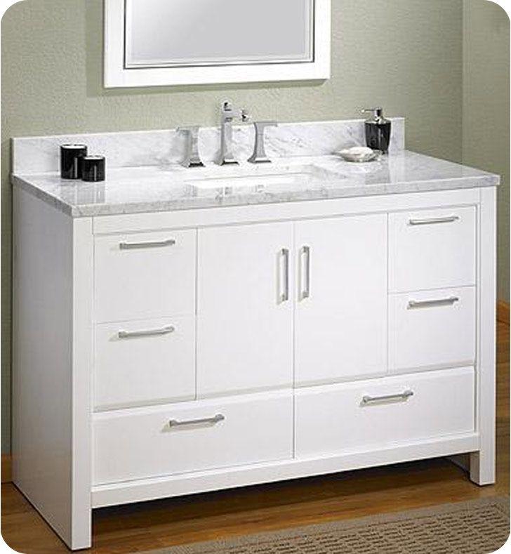 fairmont designs 124 v48 belleair beach 48 modern bathroom vanity rh pinterest com 48 Inch Bathroom Vanity 60 Bathroom Vanity