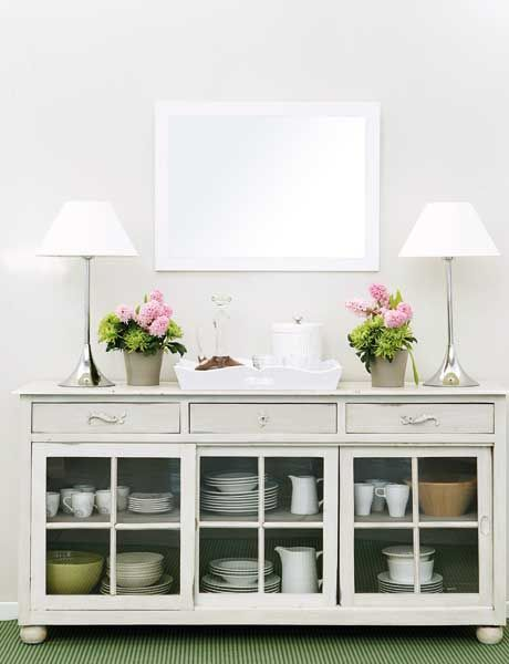 How to Paint Unfinished Kitchen Cabinets | Southern style ...