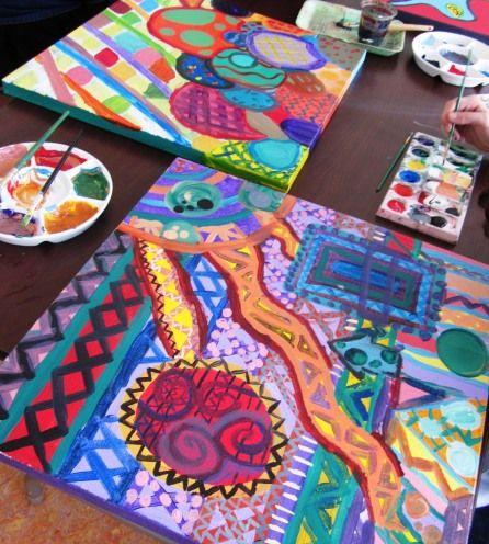 Abstract Art 7th Grade