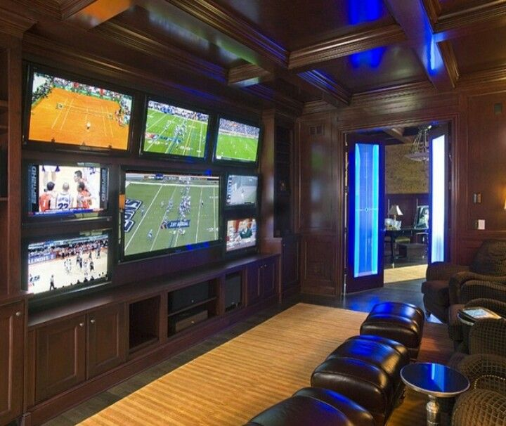 12 Man Caves Ideas For The Dad Who Loves To Chill Man Cave Room Man Cave Design Man Cave Home Bar