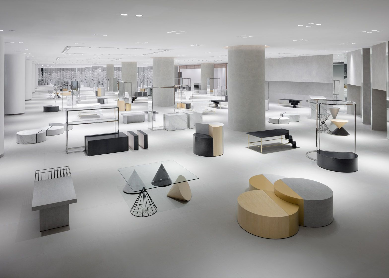 Nendo has transformed shopping space in Bangkok into Lifestyle Labs 64