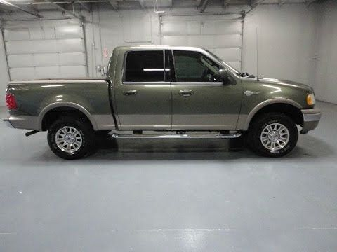F150 King Ranch For Sale >> Rare Low Mile 2003 Ford F 150 4x4 Crew Cab King Ranch For