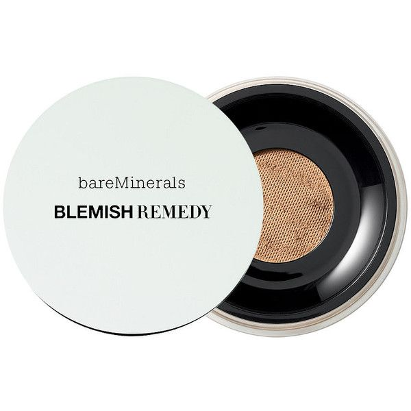 bareMinerals Blemish Remedy Foundation, Clearly Pearl 02 0.21 oz (6.21... (£22) ❤ liked on Polyvore featuring beauty products, makeup, face makeup, foundation, moisturizing foundation, bare escentuals foundation, bare escentuals, mineral foundation and hydrating powder foundation