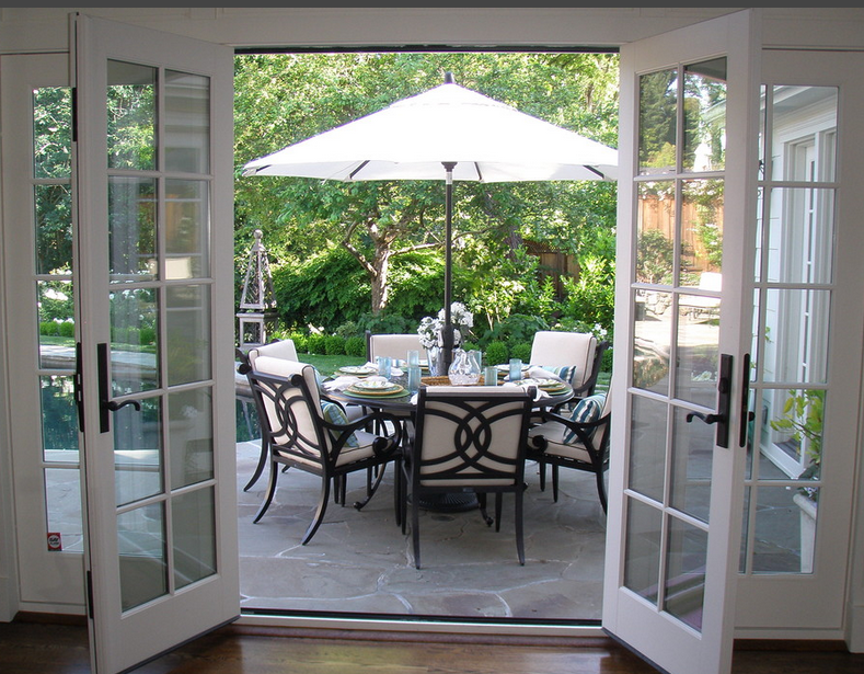 pin von ulrike lesenundwissen auf terrasse patio pinterest haus t ren und terrasse. Black Bedroom Furniture Sets. Home Design Ideas