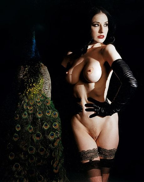 Like Dita von teese naked