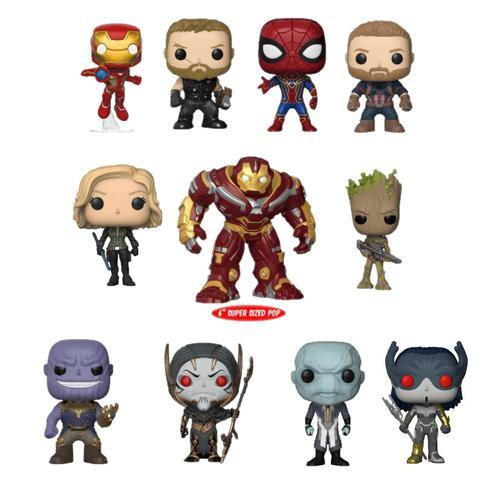 Pre Order Funko Pop Avengers Infinity War Complete Set Of 11 Avengers Infinity War Funko Pop Avengers Pop Marvel