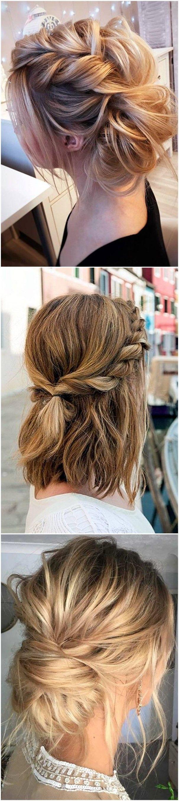 lovely mediumlength hairstyles for fall weddings medium length