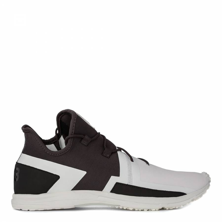 74d59ca59dacd Men s Black And White Leather Blend Y3 Arcrc Trainers - Men s Luxury  Sneakers