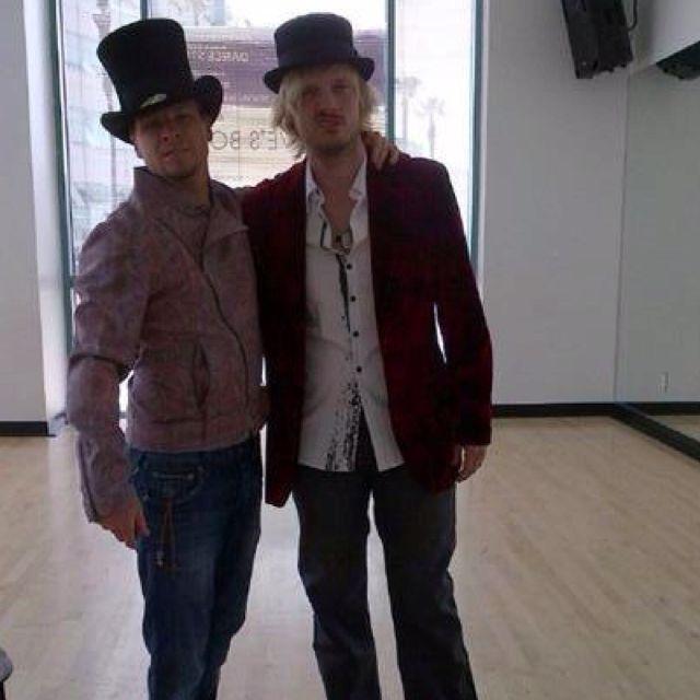 Brian Littrell & Nick Carter aka Frick and Frack