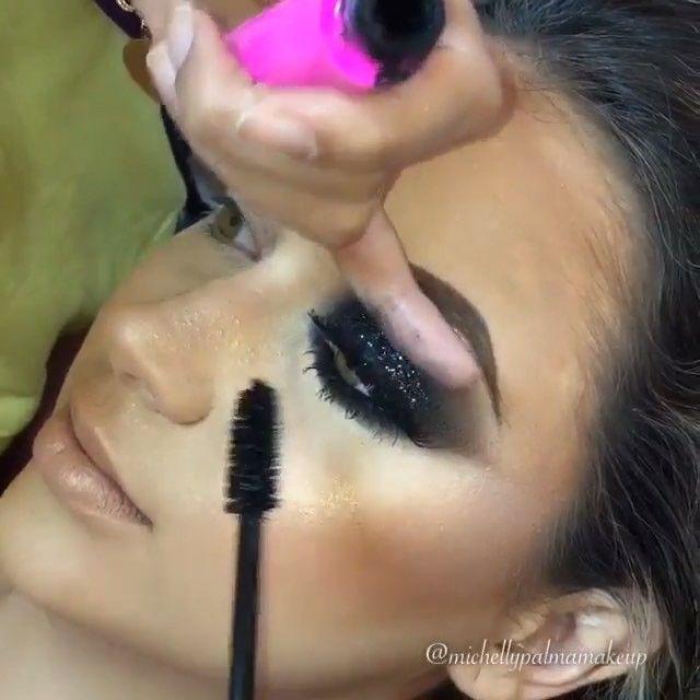 Breathtaking!Black Smokey and Glitter