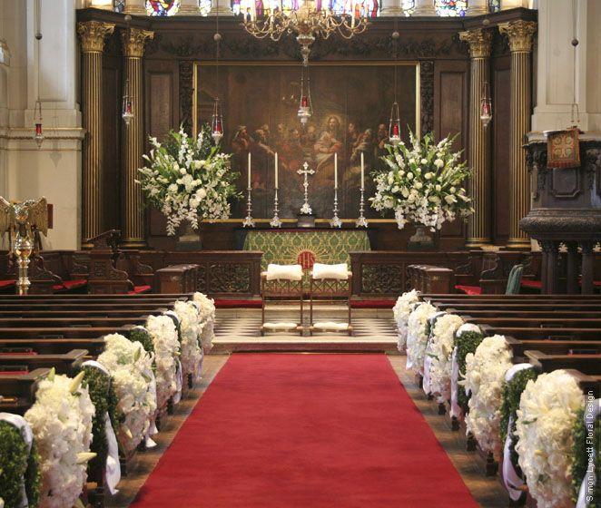 Wedding Altar Sims: Church Flowers, Wedding