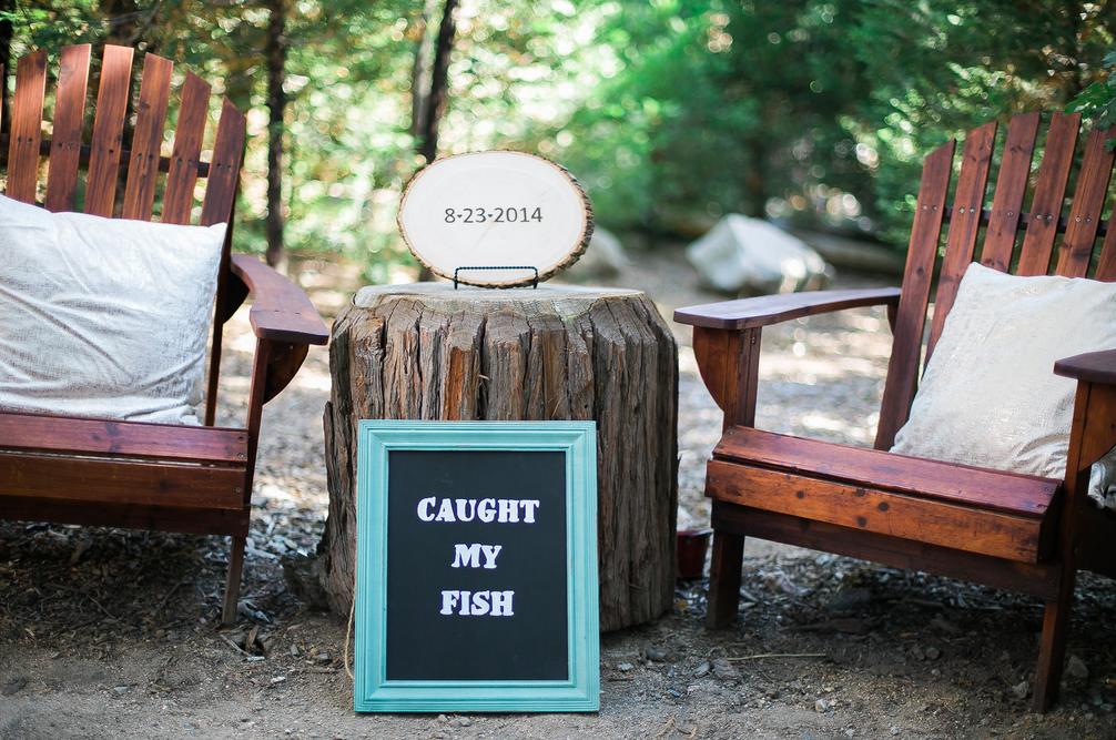 Lake Arrowhead Rustic Wedding   Rustic forest wedding ...