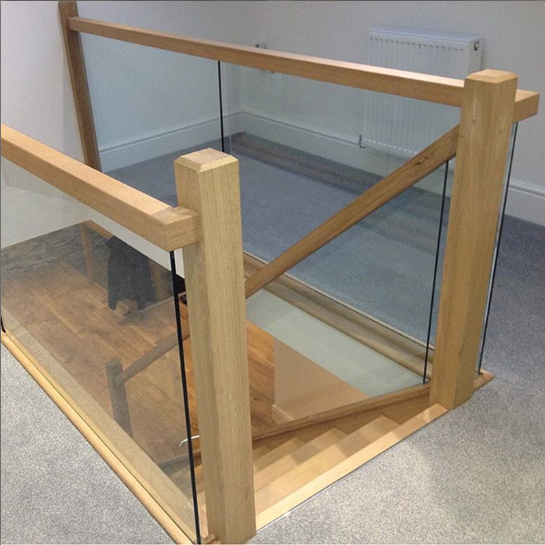 Glass Staircase Balustrade Kit: Pin By Shaw Stairs Ltd On Glass Stair Balustrade