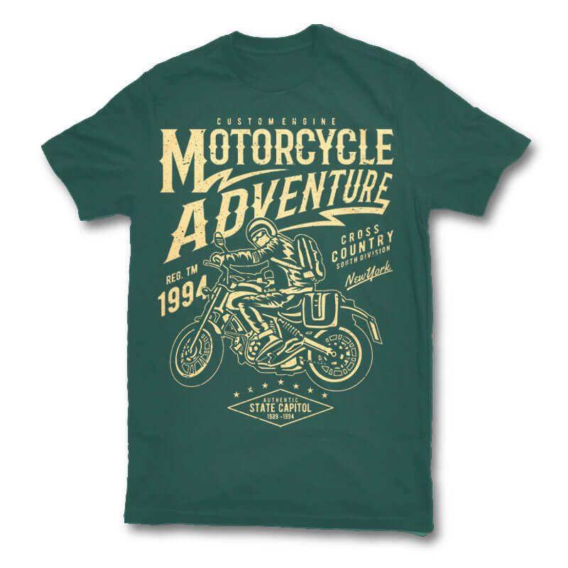9fde1c9fa265 Motorcycle Adventure t shirt design buy t shirt design | Tshirt ...