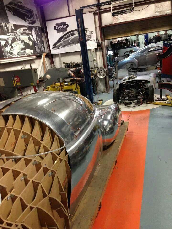 Tucker Sheet Metal Fabrication Metal Shaping Concept Car Design